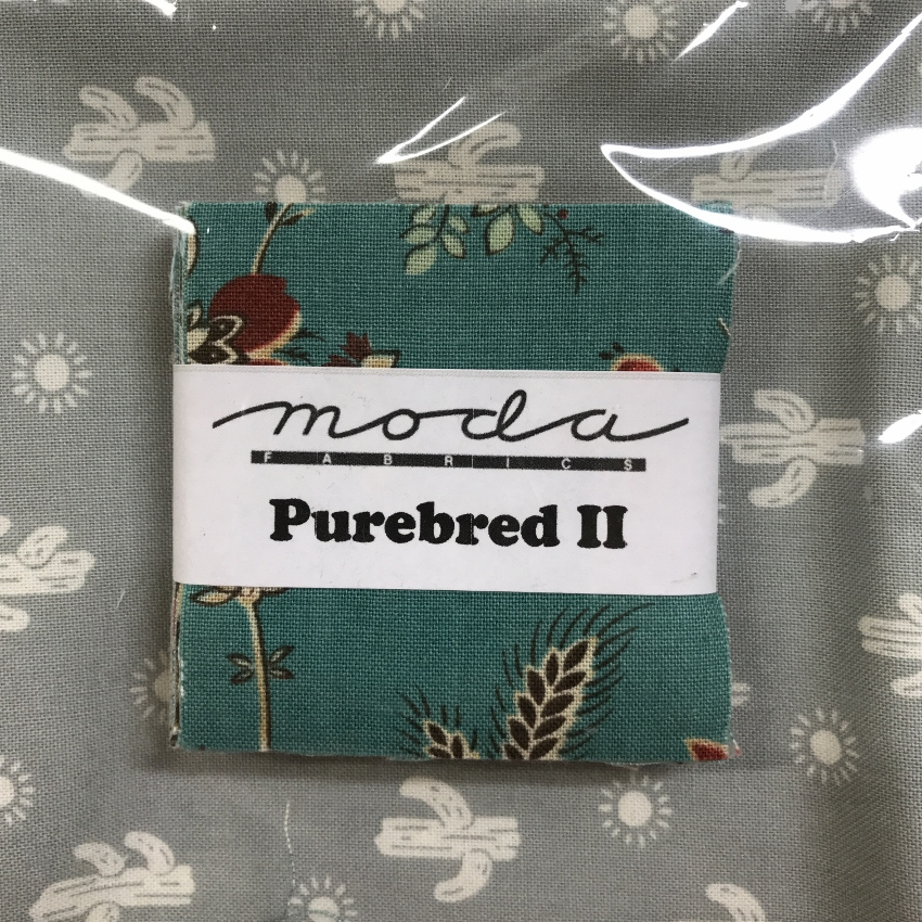 Purebred Mini Charms with Fat Quarter