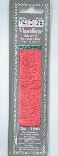 Col 0410 6 stranded Mouline embroidery thread