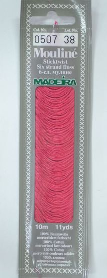 Col 0507 6 stranded Mouline embroidery thread