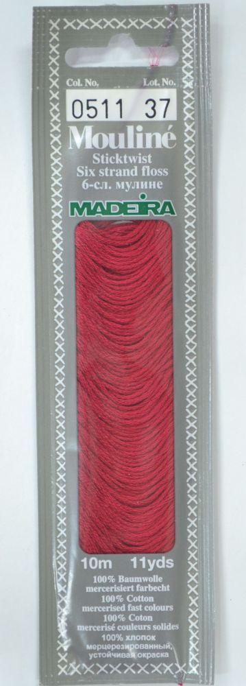 Col 0511 6 stranded Mouline embroidery thread