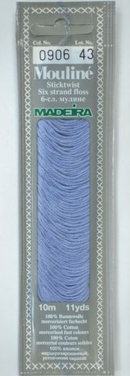 Col 0906 6 stranded Mouline embroidery thread