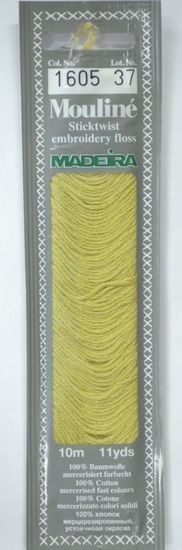 Col 1605 6 stranded Mouline embroidery thread