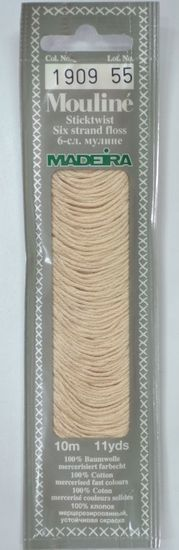 Col 1909 6 stranded Mouline embroidery thread