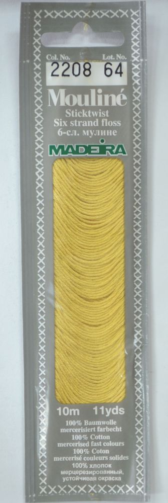 Col 2208 6 stranded Mouline embroidery thread