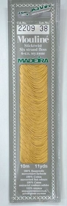 Col 2209 6 stranded Mouline embroidery thread