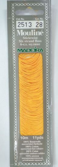 Col 2513 6 stranded Mouline embroidery thread