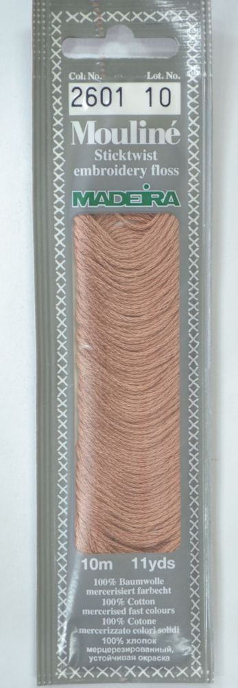 Col 2601 6 stranded Mouline embroidery thread