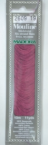 Col 2609 6 stranded Mouline embroidery thread