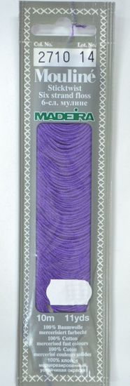 Col 2710 6 stranded Mouline embroidery thread