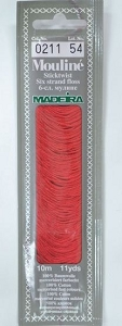 Col 0211 6 stranded Mouline embroidery thread