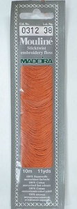 Col 0312 6 stranded Mouline embroidery thread