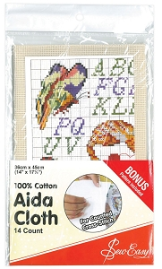 14 Count Aida Cloth - ECRU