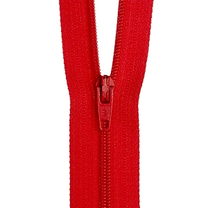 30cm Dress zip Hot red