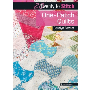 20 to stitch One Patch Quilts BOOK