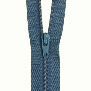 30cm Dress zip Dusty Blue