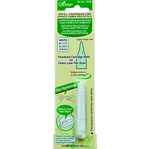 Clover Chaco Liner Pen Style SWHITE REFILL