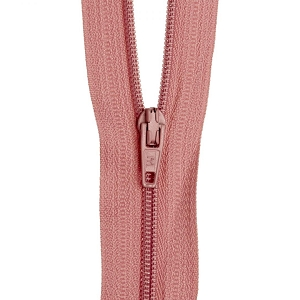 30cm Dress zip Dusty Pink