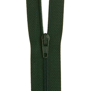 30cm Dress zip Hunter Green