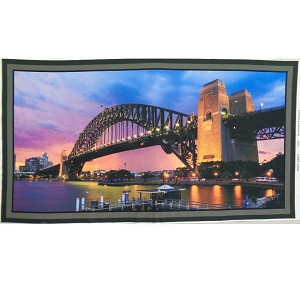 Sydney Sights Harbour Bridge Panel