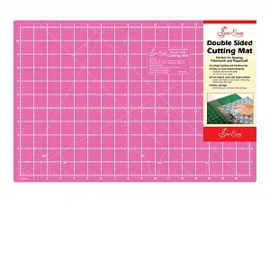 Double Sided Cutting Mat Medium - Blue/Pink