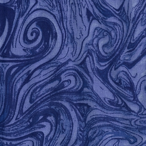 Marble Navy Blue Quilt backing 108