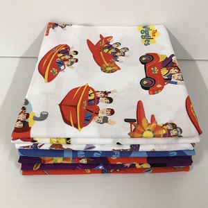 The Wiggles 7 Fat Quarter Pack
