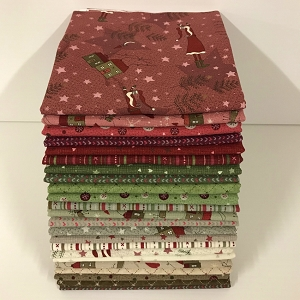 Winter Village 23 Fat Quarter Pack