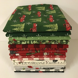 Homegrown Holidays 17 Fat Quarter Pack