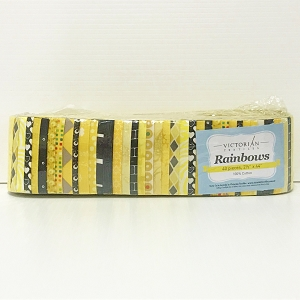 Yellow Rainbows Precuts (Jelly Roll)