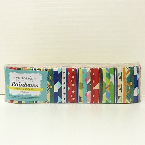 Geometric Rainbows Precuts (Jelly Roll)