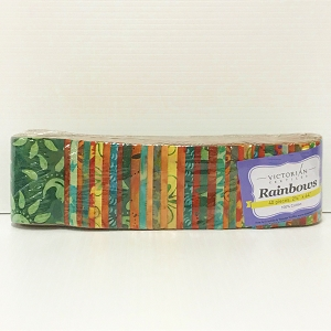 Batik Rainbows Precuts (Jelly Roll)