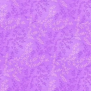 Sew Easy VINE Lilac Quilt backing 108