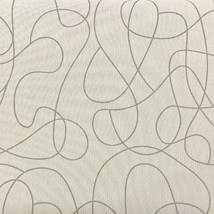 Squiggle Grey Quilt backing 108
