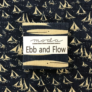 Ebb and Flow Mini Charm Squares with Fat Quarter