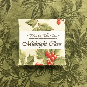 Midnight Clear Mini Charm Squares with Fat Quarter