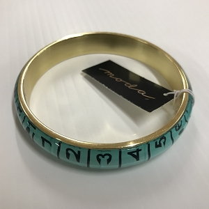 Bangle Tape Measure Aqua