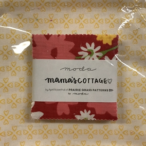 Mamas Cottage Mini Charms with Fat Quarter