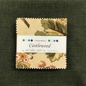 Castlewood Mini Charms with Fat Quarter