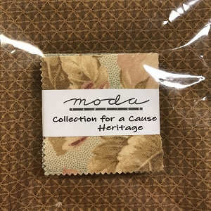 Heritage Mini Charms with Fat Quarter