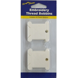 Embroidery thread bobbin 30 pack