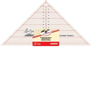 Quilters Ruler Triangle 90 DEGREES 7.5