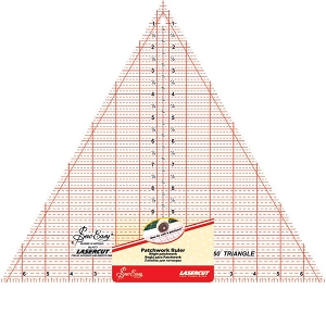 Quilters Ruler Triangle 60 DEGREES 12