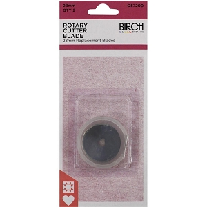 Birch 28mm Rotary Cutter Blade 2 PACK