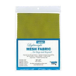 Lightweight Mesh Fabric Apple Green