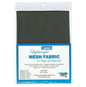 Lightweight Mesh Fabric Black