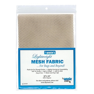 Lightweight Mesh Fabric Natural
