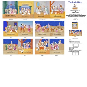 The Little King Book panel