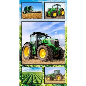 Farm Machines Collage Panel C