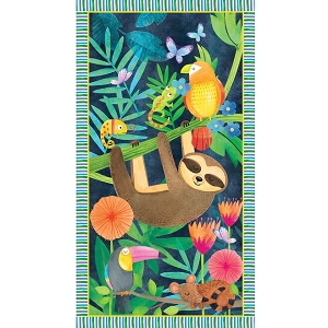 Tropical Zone Sloth panel