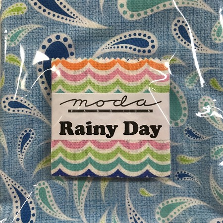 Rainy Day Mini Charms with Fat Quarter